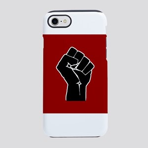 Red Solidarity Salute iPhone 7 Tough Case