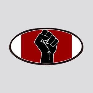 Red Solidarity Salute Patch