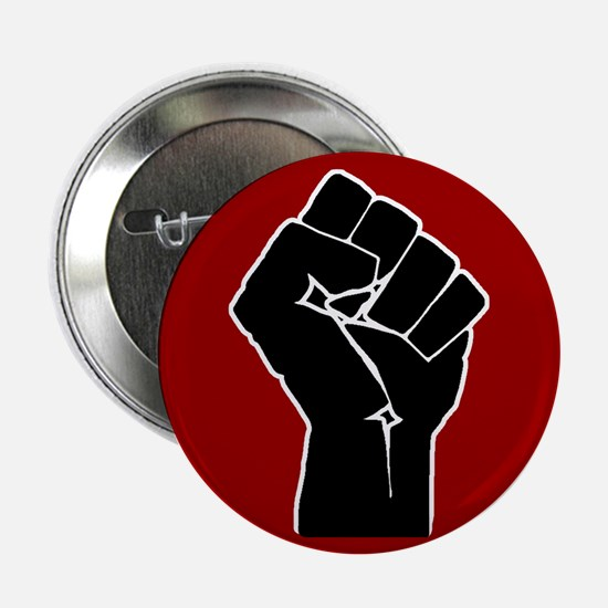 """Red Solidarity Salute 2.25"""" Button (100 pack)"""