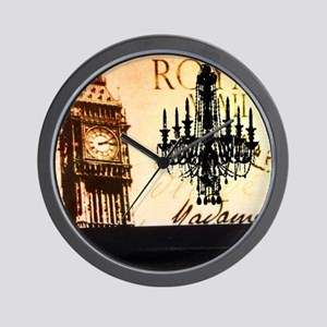 vintage big ben London chandelier UK  f Wall Clock
