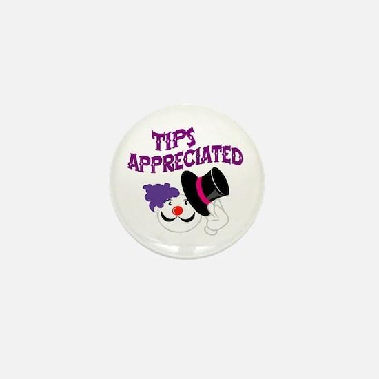 Tips Appreciated Mini Button