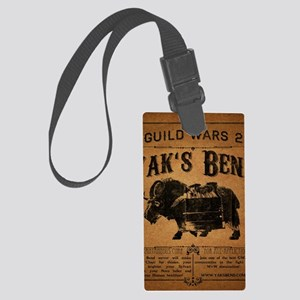 Yaks Bend Logo Large Luggage Tag
