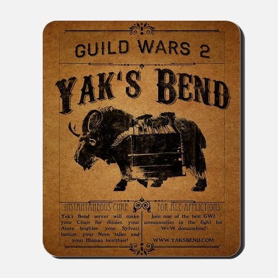 Yaks Bend Logo Mousepad