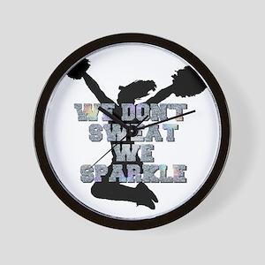 Cheerleader we sparkle Wall Clock