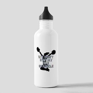 Cheerleader we sparkle Water Bottle