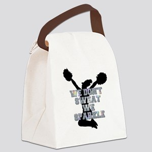 Cheerleader we sparkle Canvas Lunch Bag