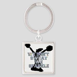 Cheerleader we sparkle Keychains