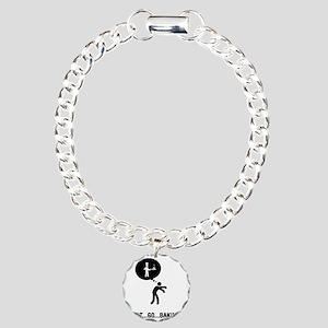 Baker-A Charm Bracelet, One Charm