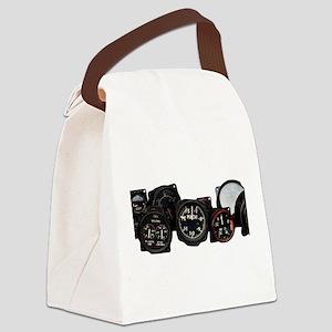Vintahe flight Mach speed dial Canvas Lunch Bag