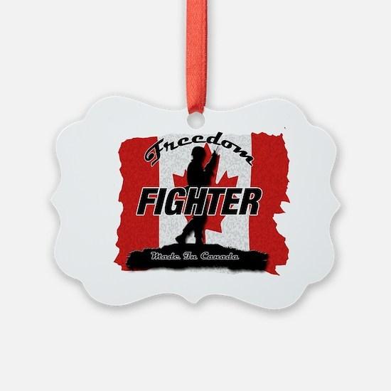 Freedom Fighter Canada Ornament