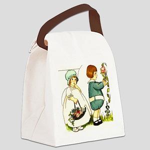2 kids Canvas Lunch Bag