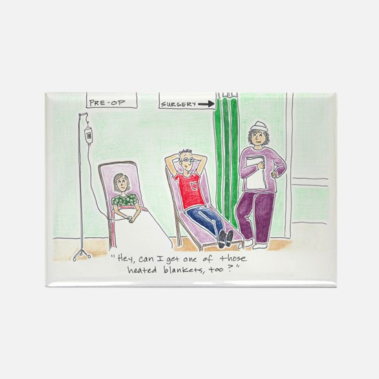 Surgery Greeting Card Rectangle Magnet