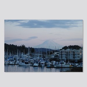 Mt. Rainier and the Harbo Postcards (Package of 8)