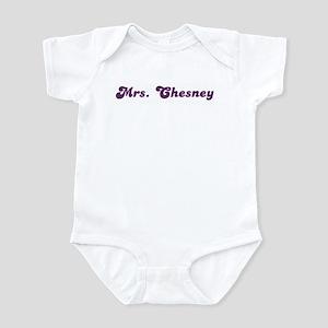 Mrs. Chesney Infant Bodysuit