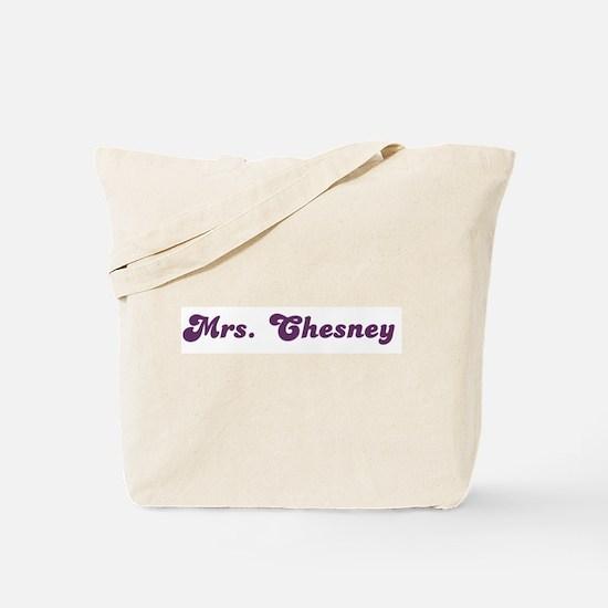 Mrs. Chesney Tote Bag