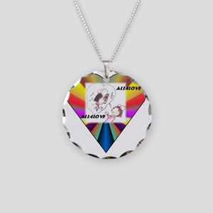 All4Love Serenade Necklace Circle Charm