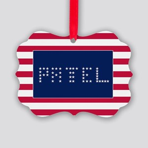 PATEL Picture Ornament