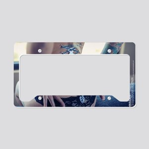 Bradley Suicide Corset Pierci License Plate Holder