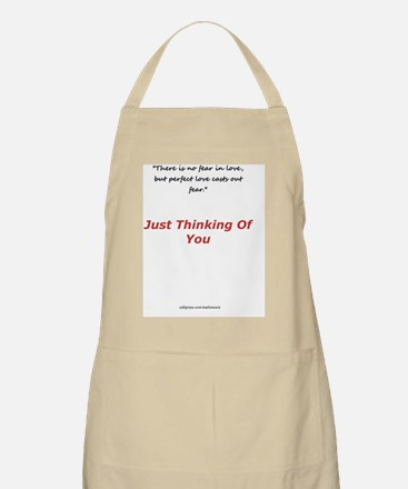 Missing you Card Apron