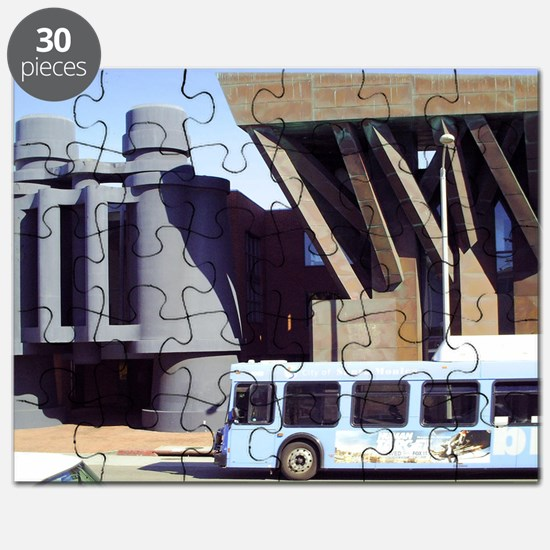Binocs and a Bus: LA Streets Scene Puzzle