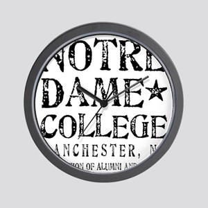 Notre Dame College Wall Clock