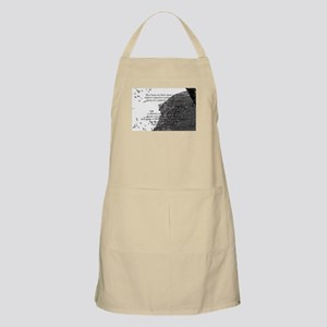 Old Man in the Mountain BBQ Apron