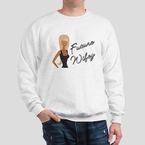 Curvy Font Future Wifey Sweatshirt