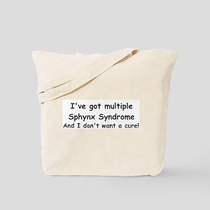 Multiple Sphynx Tote Bag