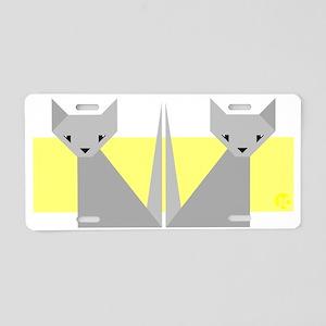 Cats Aluminum License Plate