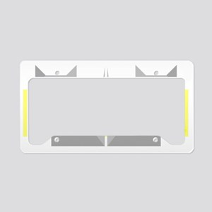 Cats License Plate Holder