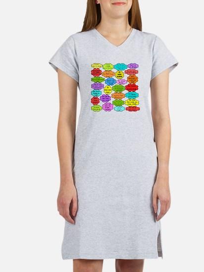 RN pillow Women's Nightshirt