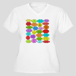 RN pillow Women's Plus Size V-Neck T-Shirt