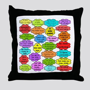 RN pillow Throw Pillow
