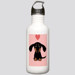 doxievalentine Stainless Water Bottle 1.0L
