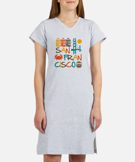 San Francisco Women's Nightshirt