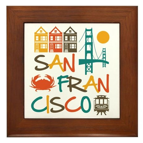 San Francisco Framed Tile