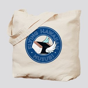 Flying Hawaiian Musubi Pillow Tote Bag