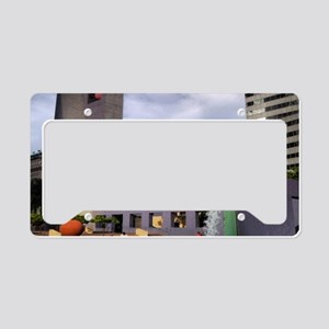 Pershing Square an L A Street License Plate Holder