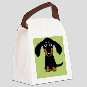 doxiecuttingboard Canvas Lunch Bag