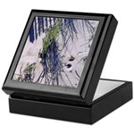 Sea Girt Dune Grasses #2 Art Keepsake Box