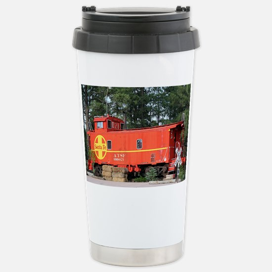 Santa Fe Railway Train  Stainless Steel Travel Mug