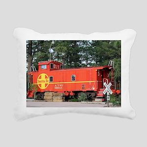 Santa Fe Railway Train C Rectangular Canvas Pillow