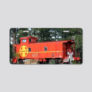 Santa Fe Railway Train Cabo Aluminum License Plate