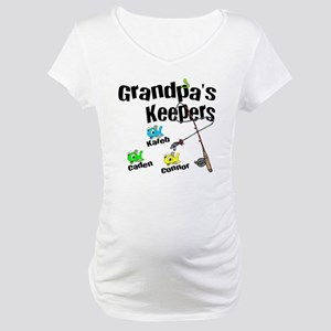 Email me for Grandpas Keepers Gi Maternity T-Shirt