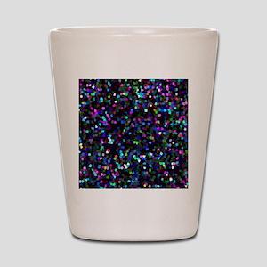 Mosaic Glitter Shot Glass