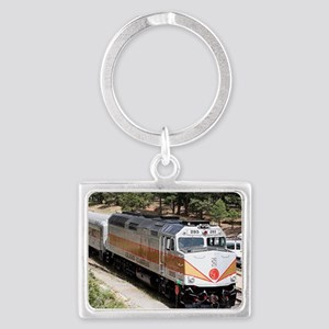 Railway Locomotive, Grand Canyo Landscape Keychain