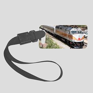 Railway Locomotive, Grand Canyon Small Luggage Tag