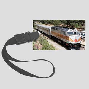 Railway Locomotive, Grand Canyon Large Luggage Tag