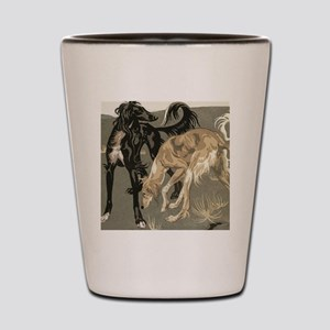 Saluki Pair Shot Glass