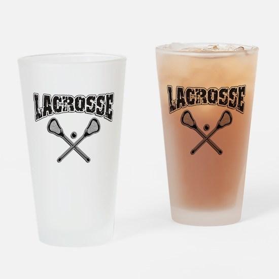 Lacrosse Drinking Glass